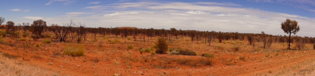 Road to Ayers Rock