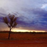 Ayers Rock Sunset Mood