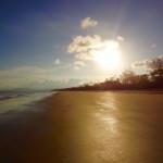 Daintree Nationalpark - Toller Sonnenuntergang