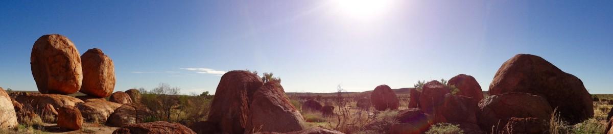 Devils Marbles - Outback