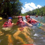 Rafting Tully River - immer mit der Stroemung