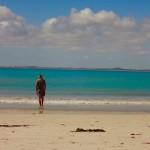 South Australia - Endlich Wasser, Dörti ist glücklich...