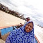 Flussfahrt in Pangkalabun