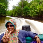 Fahrt zu den Palmölplantagen