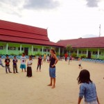 Volleyball in Kumai :-)