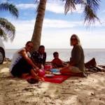 Gegessen wird am Strand - Lifestyle pur