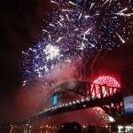 Sydney - gigantisches Feuerwerk