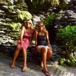 Sydney - wir zwei im Botanischen Garten