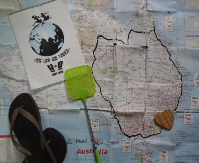 Goodbye Australia  - Unsere Route