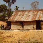 Bambushaus - Die Armut ist nicht zu übersehen