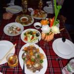 Das Essen war fantastisch :-)