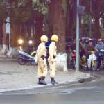 Hanois Polizei