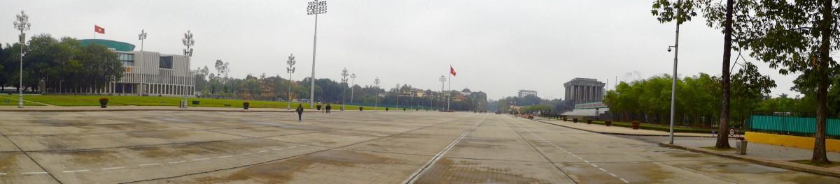 Hanoi - Bah-Dinh-Platz am Ho-Chi-Minh Mausoleum