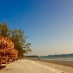 Sihanoukville - Wir genießen den Strand