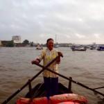 Mekong-Delta Unsere Kapitänin