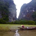 Ning Bing - Reisanbau sogar mitten im Fluss