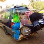 Alles passt auf einen Minivan :-)