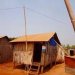 Banlung - Einfache Hütten