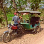 Battambang - Unser Tuktuk