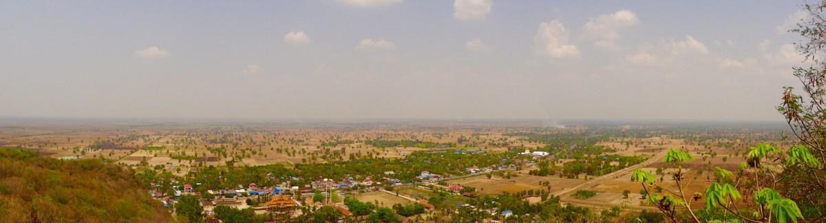 Battambang von oben