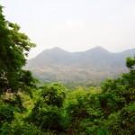 Luang  Prabang - Tolle Aussicht nach hohem Aufstieg...