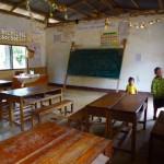 Nong Khiao - Klassenraum im Village