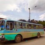 Nong Khiao - Unser Localbus...