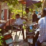 Phnom Penh - Frisör mal anders...