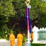 Mönche beim Sightseeing