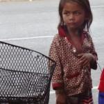 Phnom Penh - Straßenkinder überall