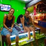 Chiang Mai - Fish Spa einfach lustig...
